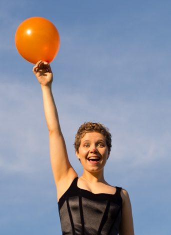 Sophie Joans Clown Balloon